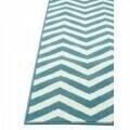 Covor indoor outdoor Floorita WAVES LIGHT BLUE133X190