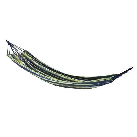 Hamac 200x100 cm Green/Blue