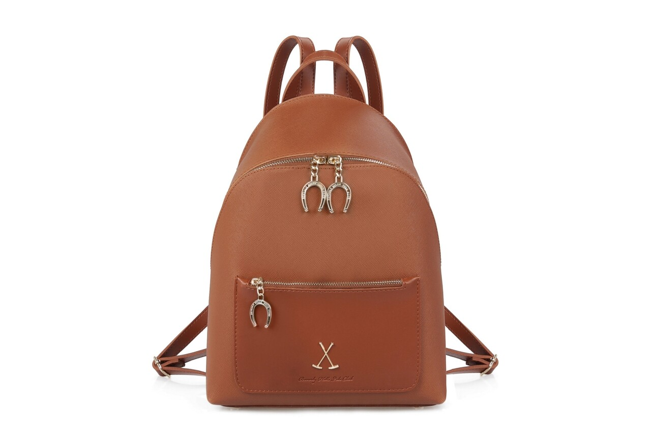 Rucsac Beverly Hills Polo Club, 707, piele ecologica, maro