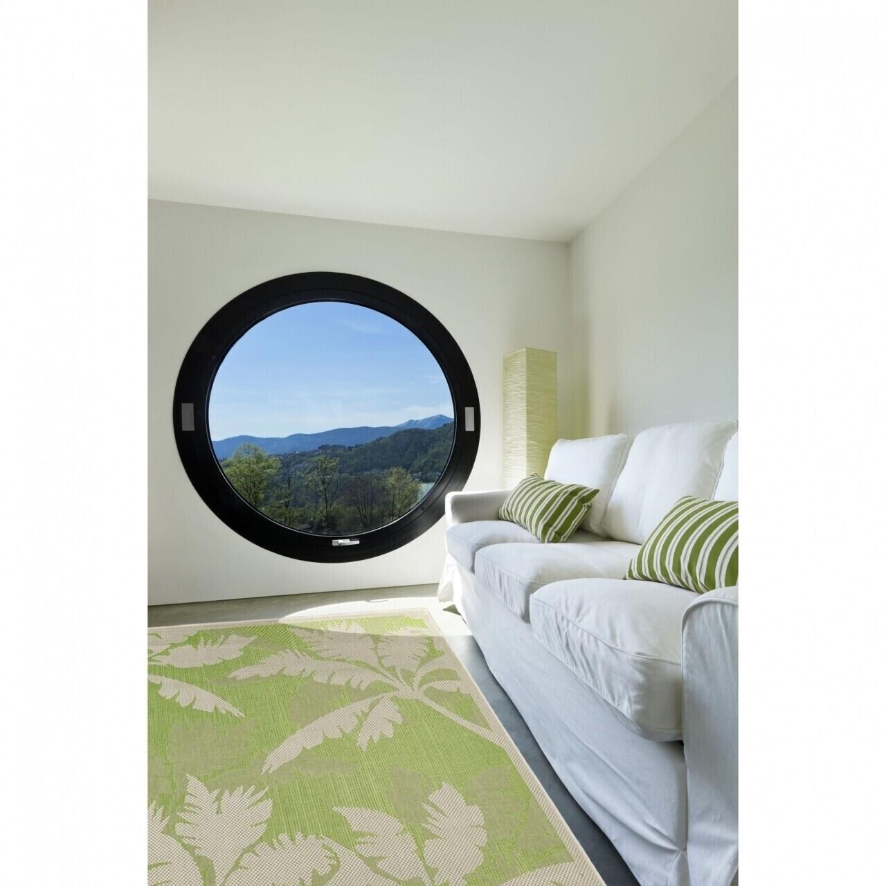 Covor indoor outdoor Floorita PALMS GREEN 135X190