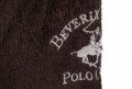 Halat de baie unisex, Beverly Hills Polo Club, 100% bumbac, XS/S, Brown