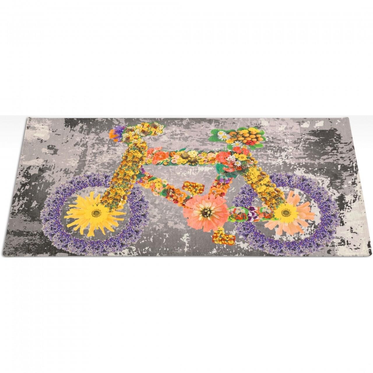 Covor rezistent Webtappeti Bike 60x140 cm, multicolor