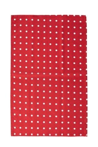 Prosop de bucatarie Polka Dots, Heinner, 45x70 cm, bumbac, rosu