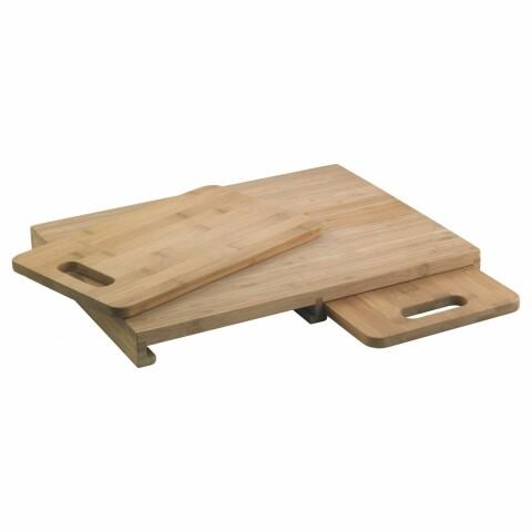 Set 3 tocătoare din lemn, Amefa, Trio