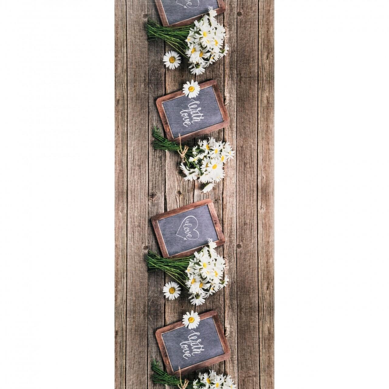 Covor rezistent Webtappeti Lavagna 58x115 cm, multicolor