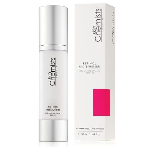 Crema hidratanta cu retinol, SkinChemists, Retinol Moisturiser, 50 ml