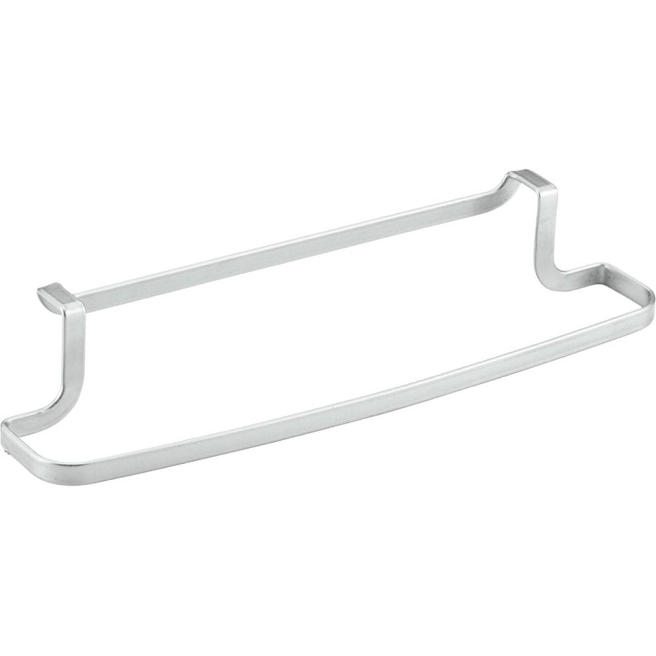 Suport prosoape pentru dulap Galileo, Metaltex, 30x8x5 cm, metal/invelis Polytherm, argintiu
