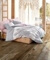 Lenjerie de pat pentru o persoana, 3 piese, 100% bumbac ranforce, Cotton Box, Almina