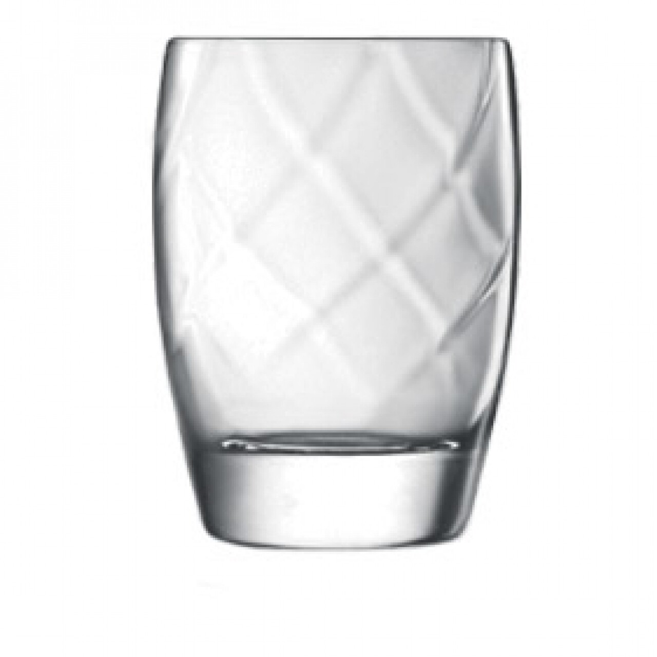 Set 4 pahare apa Canalleto D.O.F., Luigi Bormioli, 354 ml, cristalit, transparent
