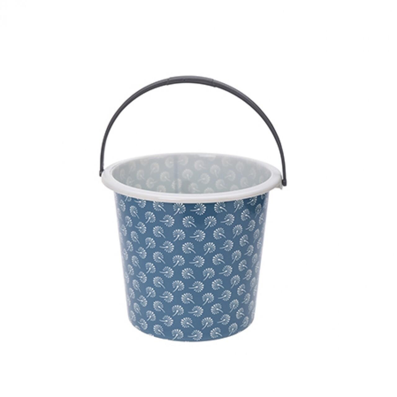 Galeata Retro Blue, 10 L, polipropilen, albastru