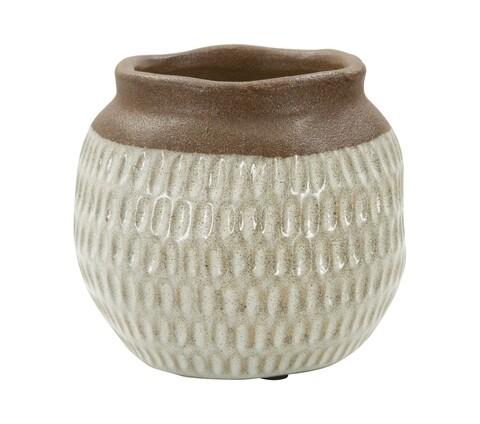 Ghiveci Kenya, Mauro Ferretti, Ø15.5 x 14 cm, ceramica
