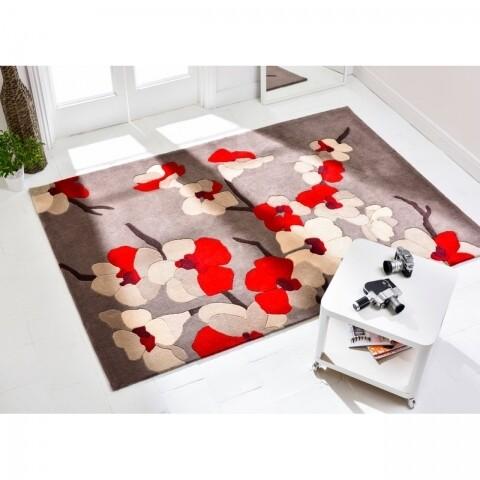 Covor Infinite Blossom Red 160X230