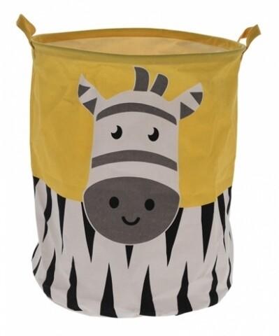 Cos depozitare, 40x50 cm, Zebra