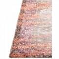 Covor Vintage Beige Orange, Floorita, 120 x 180 cm, 70% poliester chenille, 30% bumbac chenille, portocaliu