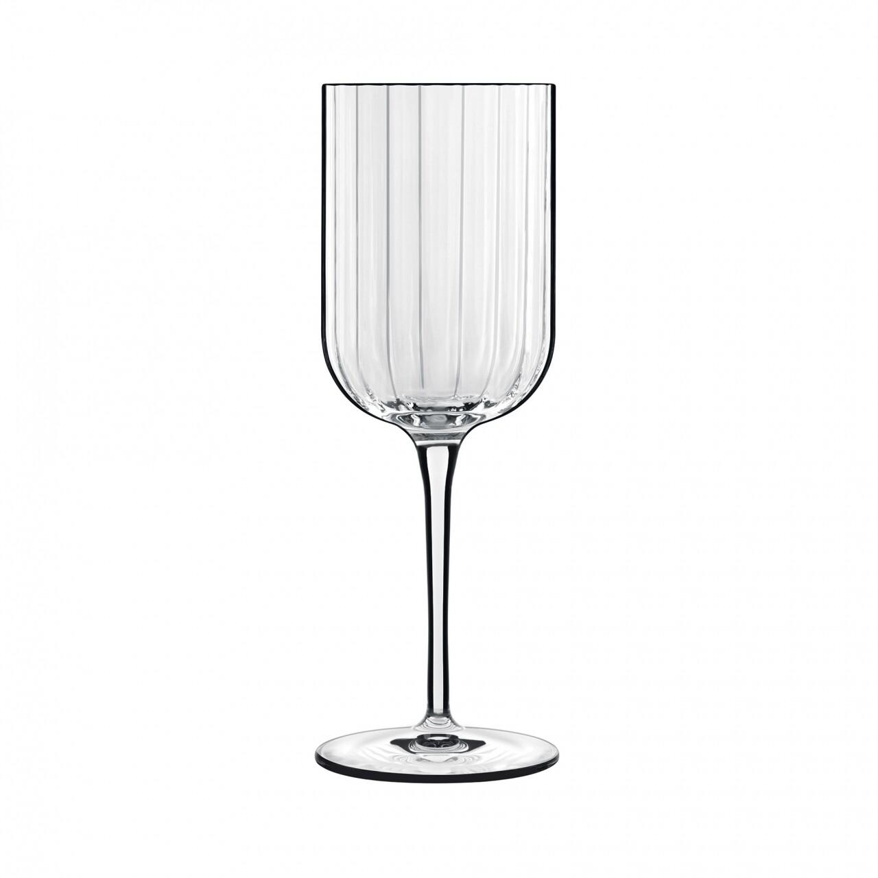 Set 4 pahare vin rosu Bach, Luigi Bormioli, 384 ml, sticla cristalina, transparent