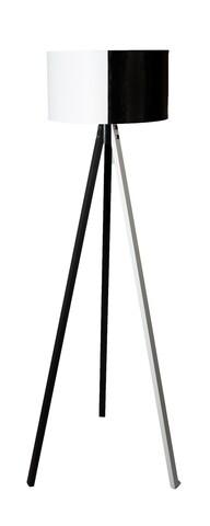 Lampadar Casa Parasio, 38x42x145 cm, 1 x E27, 60 W, alb/negru