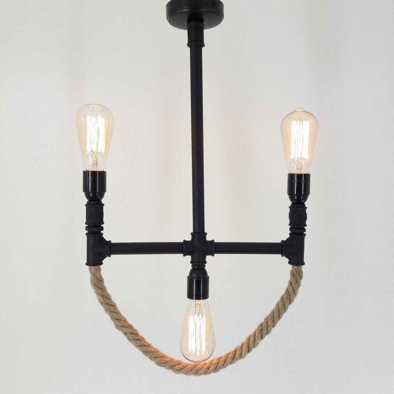 Candelabru All Design, metal, 55x40x65 cm, Anchor Black