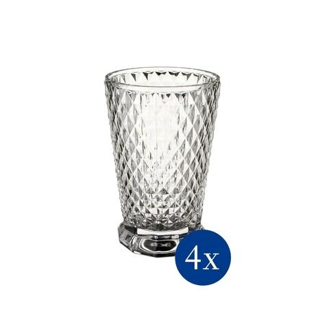 Set 4 pahare de apa, Villeroy & Boch, Boston Flare, 275 ml, sticla cristal