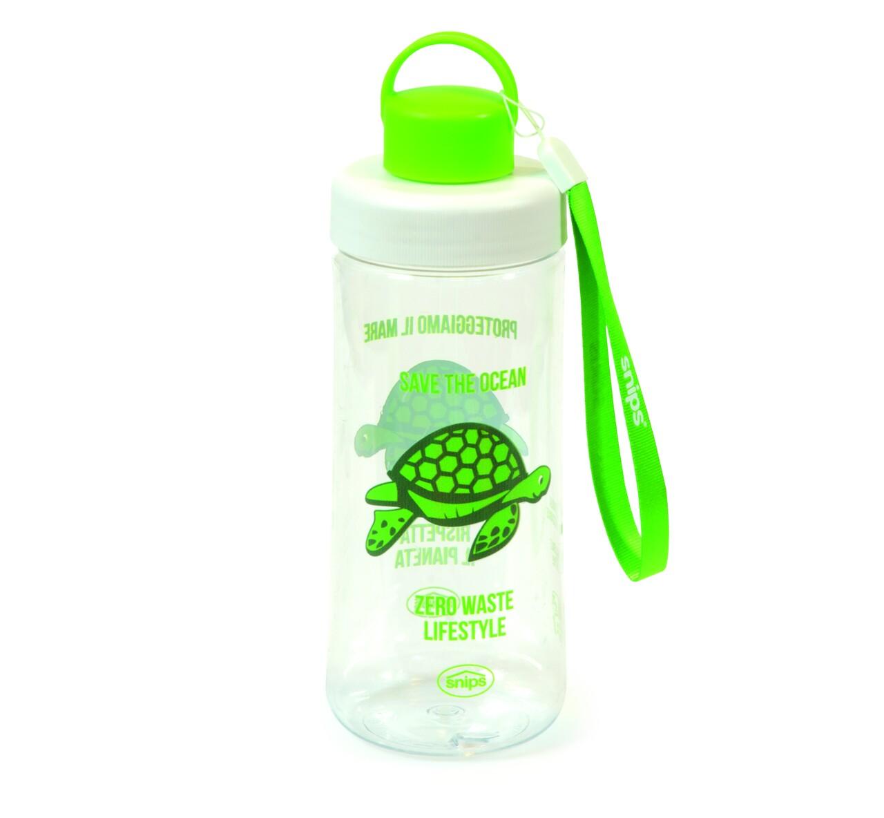 Sticla de apa, Snips, Save the Ocean-Turtle, 0.50 L, tritan
