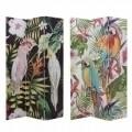 Paravan decorativ cu 2 fete InArt Tropical