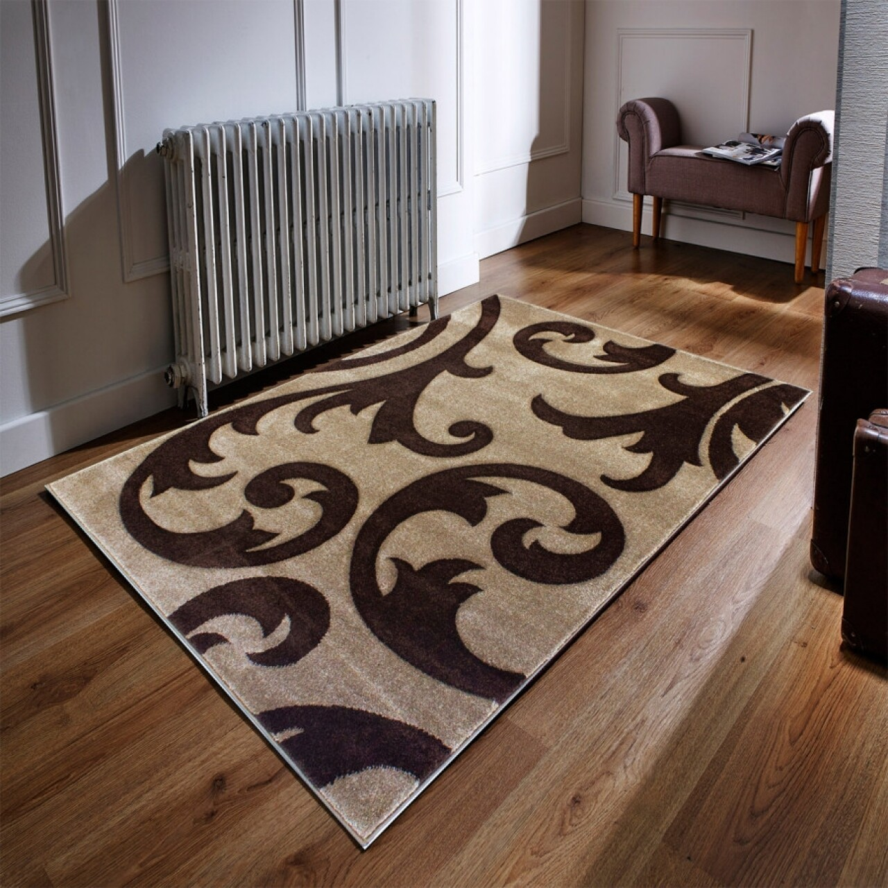 Covor Elude Beige/Brown 120x170 cm