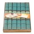 Set 6 suporturi pentru farfurie PRC, bambus, 40 x 35 cm, albastru
