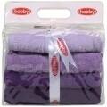 Set 4 prosoape de maini Lilac Delight, Hobby,  50 x 90 cm, 100% bumbac, mov