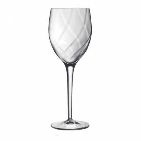 Set 4 pahare vin si alte bauturi, Canaletto, Luigi Bormioli