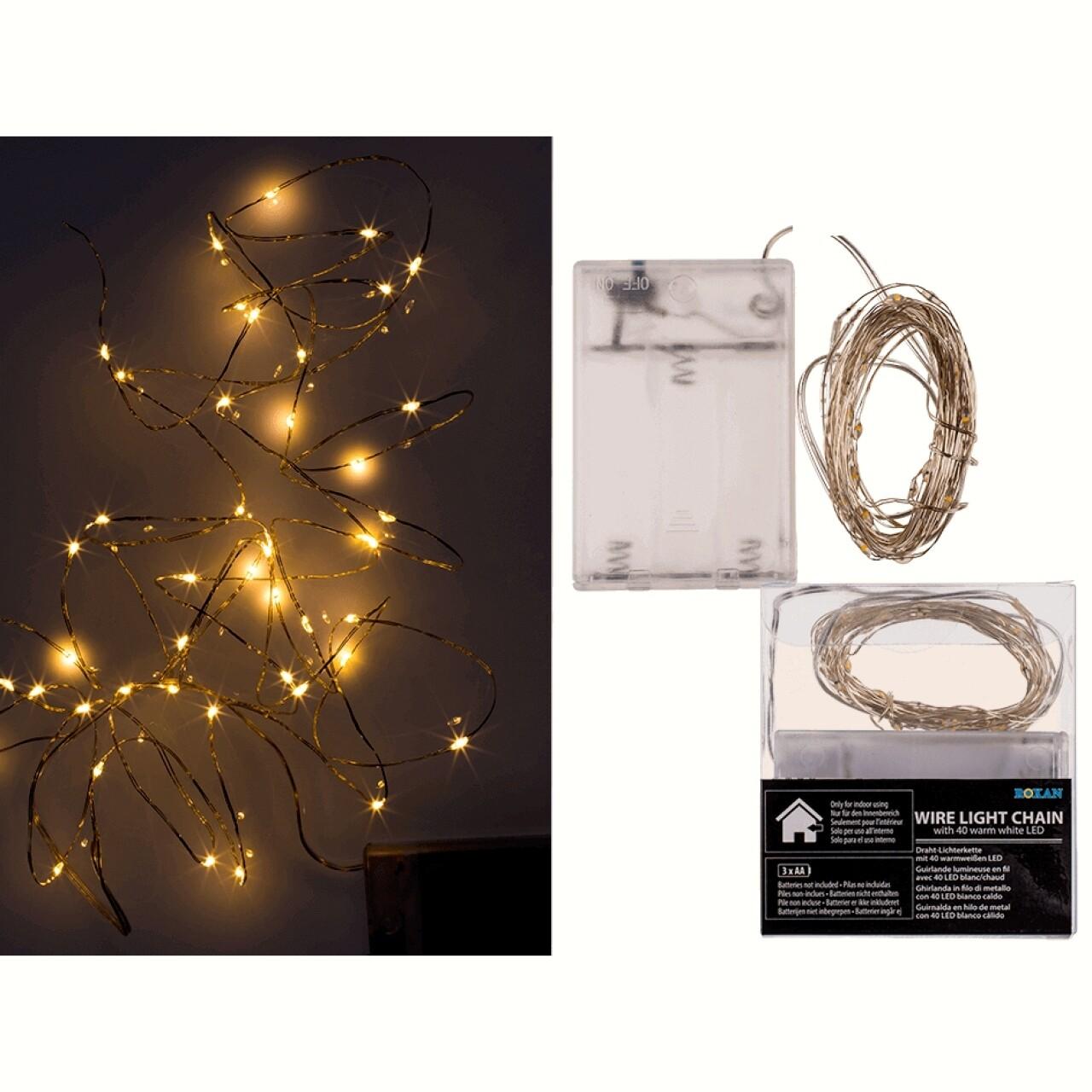 Instalație de pom, 40 de LED-uri
