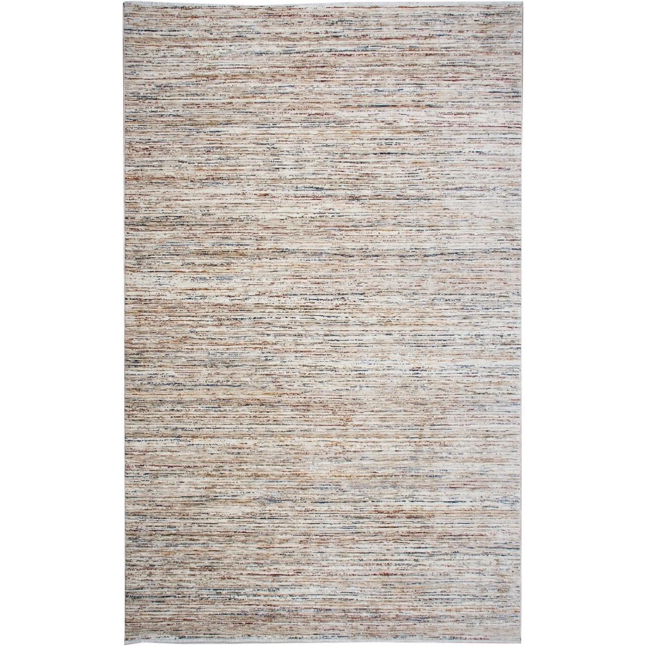 Covor rezistent Eko, ALT - Plain Beige, 100% poliester,  160 x 230 cm