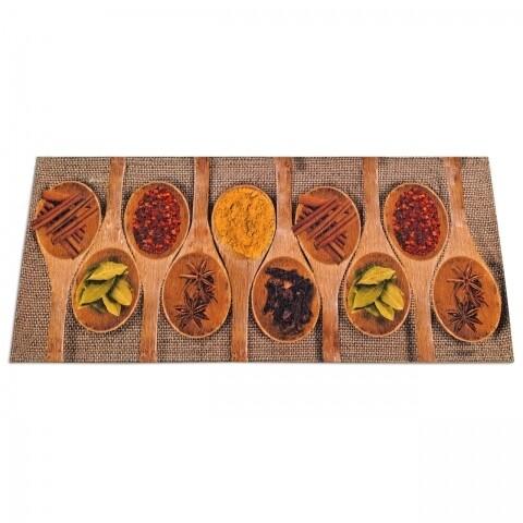 Covor rezistent Webtappeti Spices Market 60 x 240 cm, maro