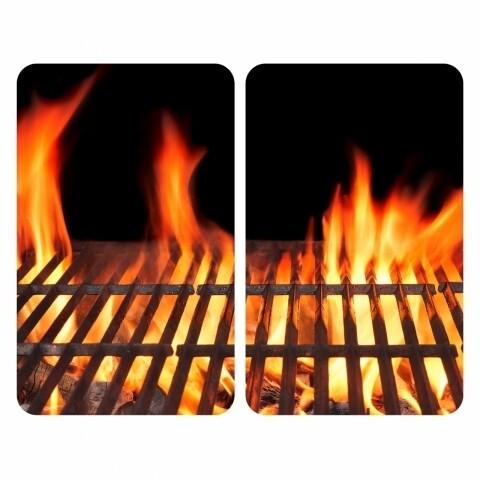 Set 2 protecții universale pentru aragaz, Wenko Fire