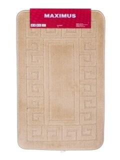 Covoras de baie, Ethnic, Brilanz, polipropilena, 50x80 cm, bej