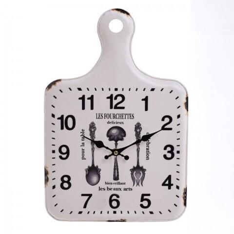 Ceas de perete InArt, 27x2x40 cm, White