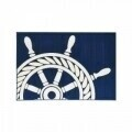 Covor indoor outdoor Floorita WHEEL NAVY 133X190