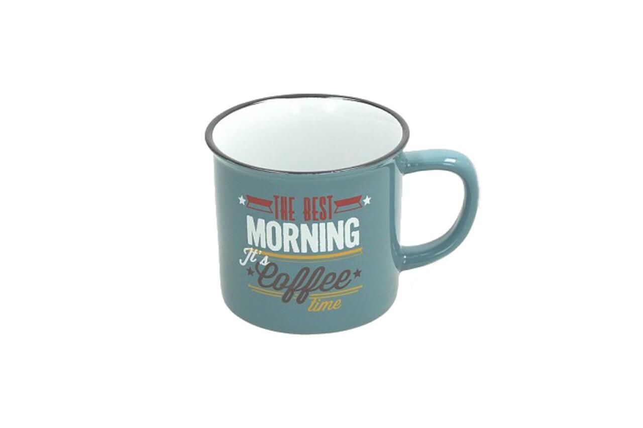 Cana pentru cafea, Tognana, 360 ml, ceramica, albastru