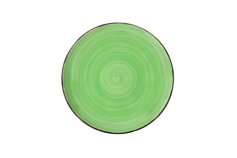 Farfurie pentru desert Gala Green, Heinner, Ø19 cm, ceramica, verde
