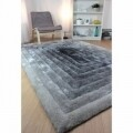 Covor Verge Ridge Black/Grey 80X150