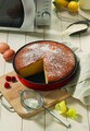Tava rotunda pentru copt in cuptorul cu microunde, Snips, 26 cm Ø, aluminiu