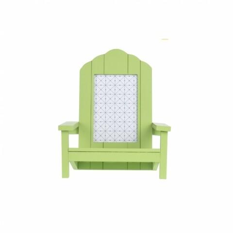 Ramă foto 20x19x23 cm Beach Chair Green