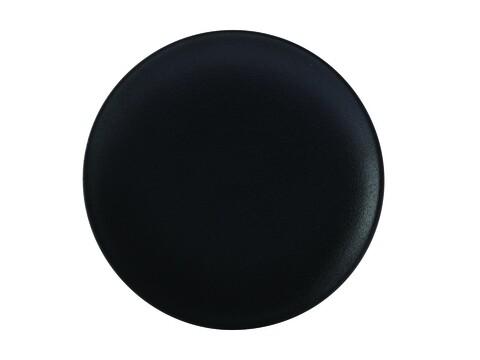 Farfurie pentru desert, Maxwell&Williams, Caviar, 20 cm Ø, portelan, negru