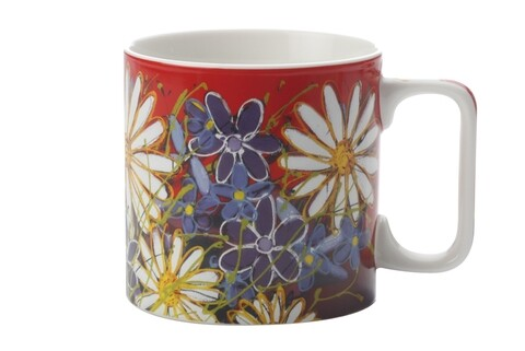 Cana Tangled Sunflowers, Maxwell & Williams, 350 ml, portelan, multicolor