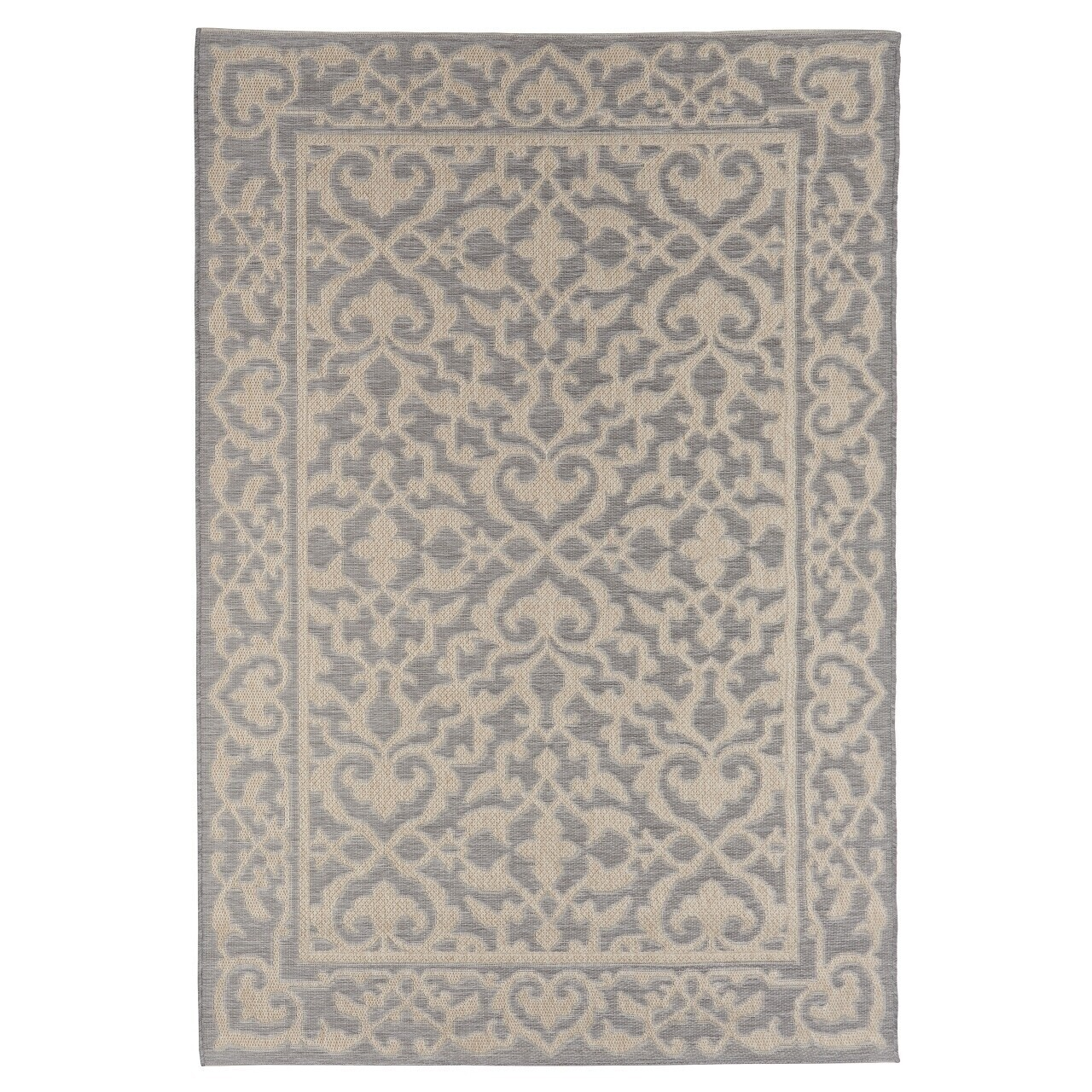 Covor indoor outdoor Floorita BOHO GREY 130X190