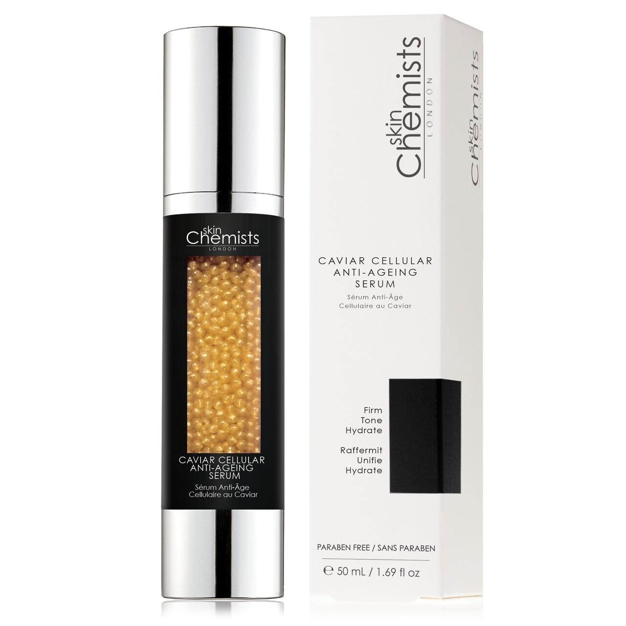 Ser antirid cu caviar salbatic pentru ten, SkinChemists, Caviar Cellular Anti-Ageing, 30 ml