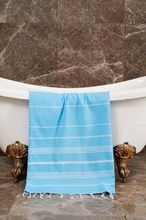 Prosop de plaja Sultan, Foutastic, 100x180 cm, albastru