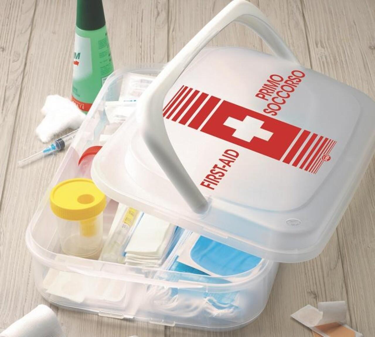Trusa prim ajutor, Snips, First Aid Box, 43 x 27.5 x 11 cm, polipropilena