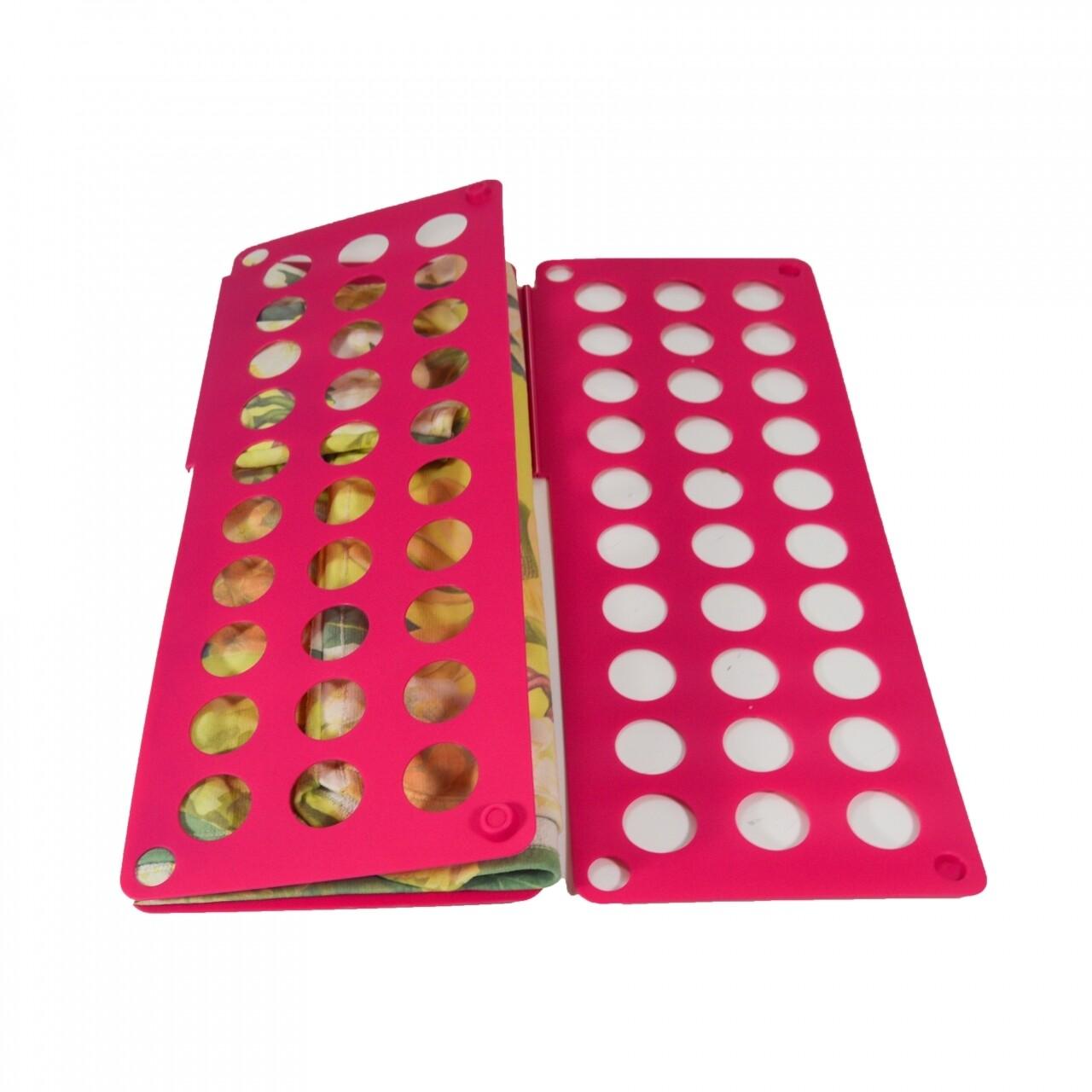 Plansa pentru impaturit haine Pinky, Jocca, 60 x 70 cm, polipropilena, rosu