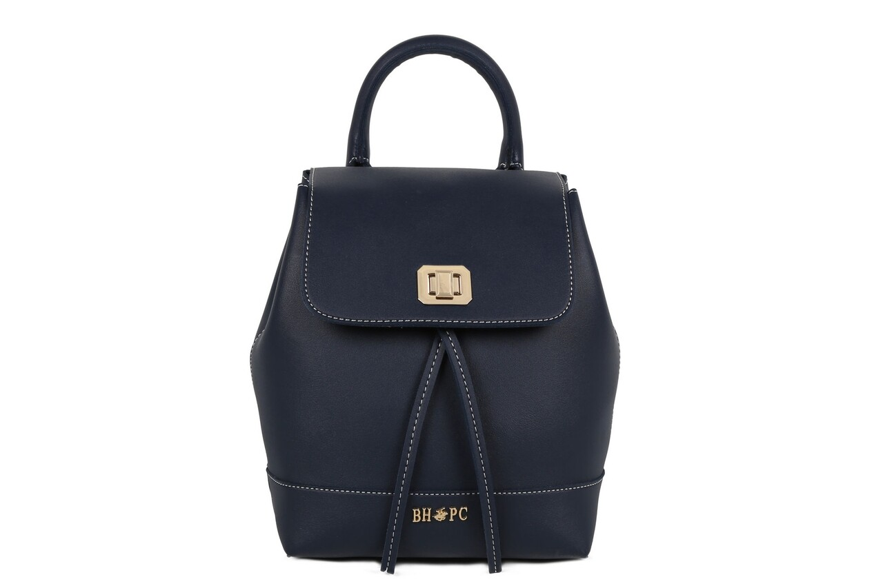 Rucsac Beverly Hills Polo Club, 598, piele ecologica, bleumarin