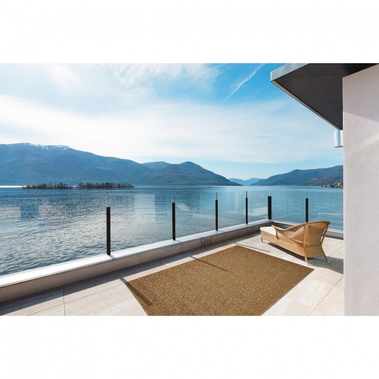 Covor indoor outdoor Floorita PLAIN MOCHA 133X190