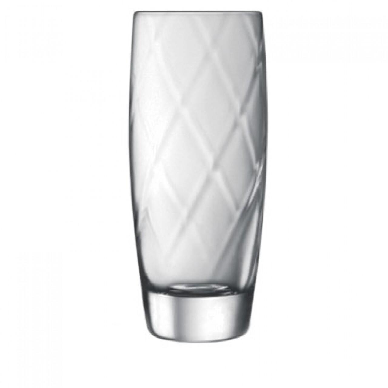 Set 4 pahare apa Canalleto, Luigi Bormioli, 443 ml, cristalit, transparent